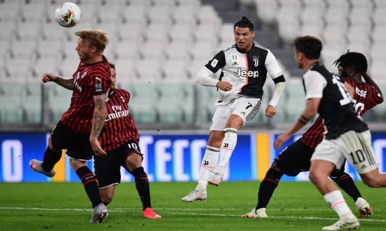 رونالدو يقود يوفنتوس لتعادل مثير مع اتالانتا في الدوري الإيطالي