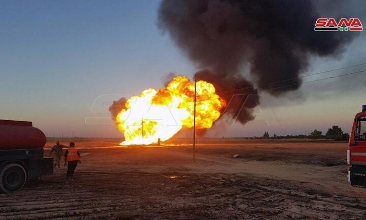 انقطاع الكهرباء عن كامل سوريا جراء تفجير ارهابى فى خط الغاز بريف دمشق