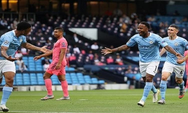 مانشستر سيتى يهزم الريال 2 / 1 ويتأهل لربع نهائى دوري أبطال أوروبا