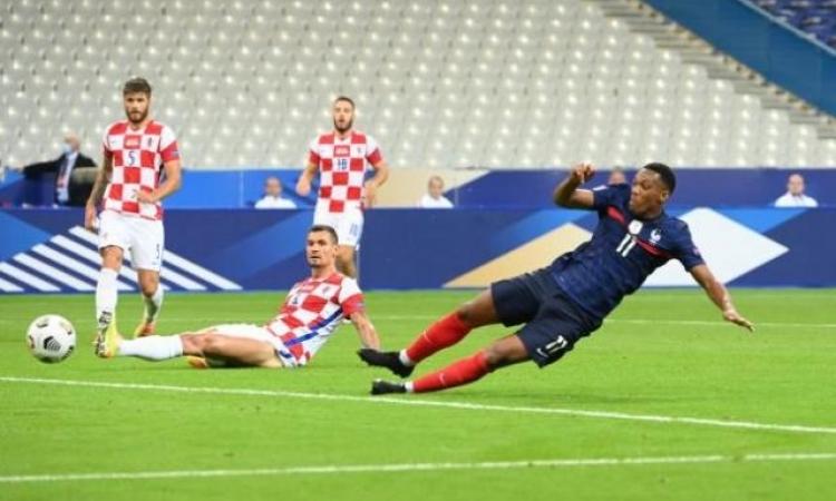 فرنسا تكرر نتيجة نهائي المونديال مع كرواتيا فى دورى الأمم الاوروبية