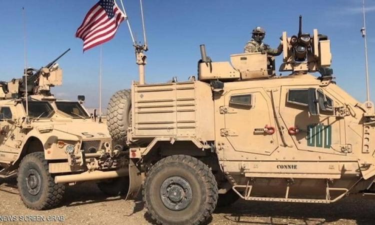الجيش الأمريكى يرسل تعزيزات عسكرية شمال شرق سوريا