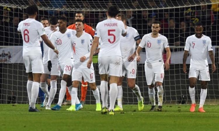 إنجلترا ضيفًا على الدنمارك فى مواجهة نارية بدوري الأمم الأوروبية