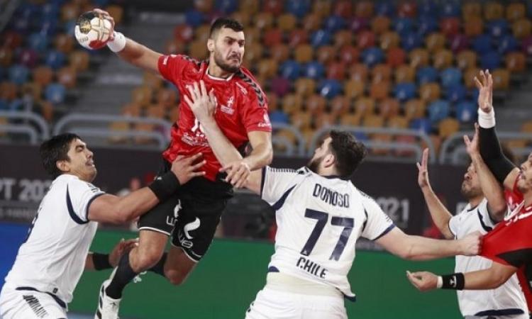 الفراعنة يواجهون مقدونيا فى ثانى مبارياتهم بمونديال اليد