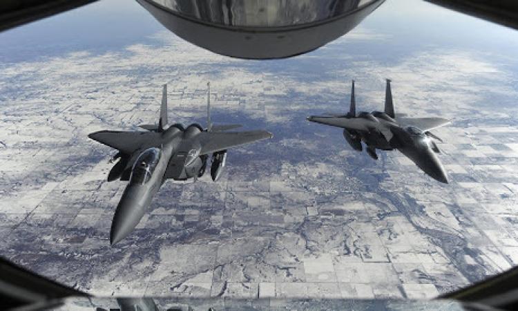 كبرى مناورات الحروب الجو– فضائية لسلاح الجو الأمريكى تدخل مراحلها النهائية