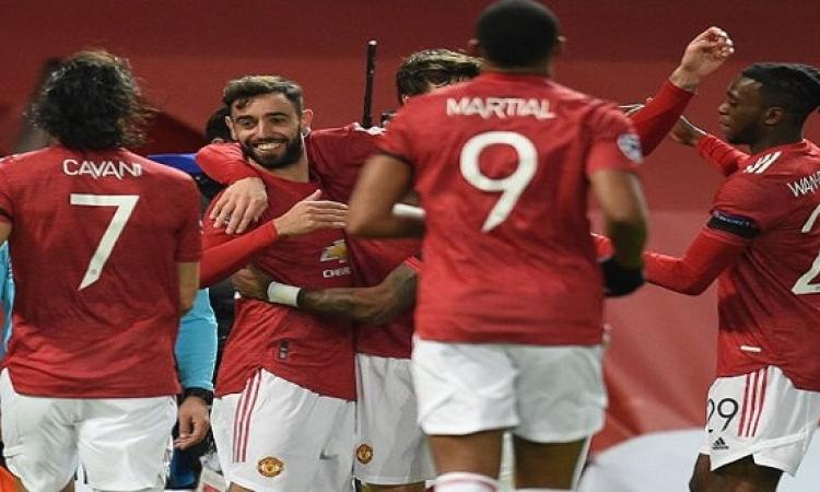 مانشستر يونايتد يستدرج برايتون للحفاظ على وصافة الدوري الإنجليزي