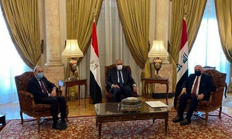 اجتماع ثلاثى لوزراء خارجية مصر والأردن والعراق اليوم فى بغداد