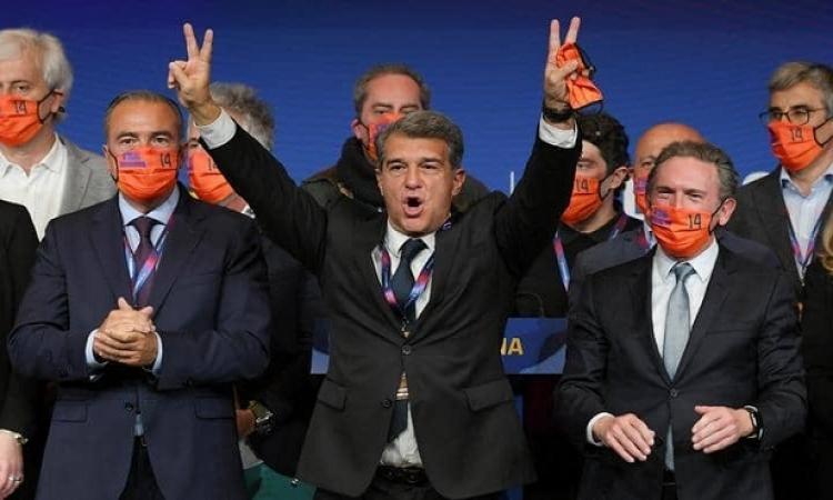 رسميًا.. خوان لابورتا يعود لرئاسة برشلونة مرة أخرى
