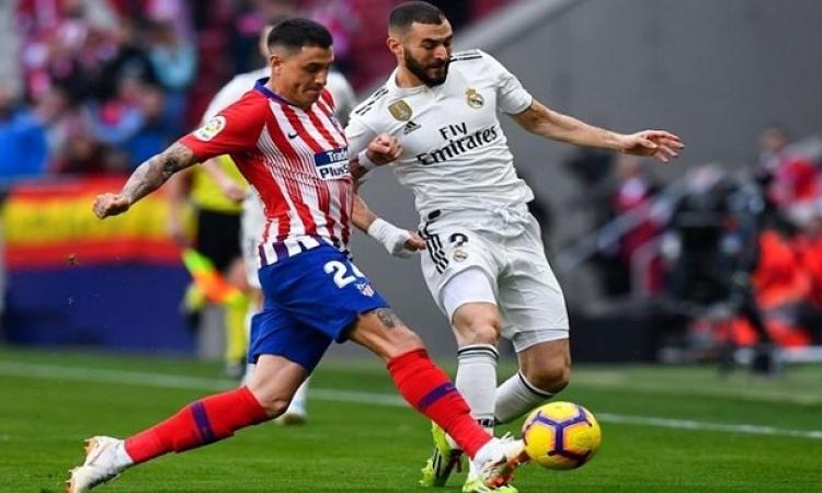 """ديربي مدريد الليلة يشعل الصراع على قمة """"الليجا"""""""