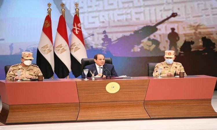 السيسي : نتفاوض بشأن سد النهضة للتوصل إلى اتفاق قانوني ملزم .. ولا تفاوض بلا نهاية
