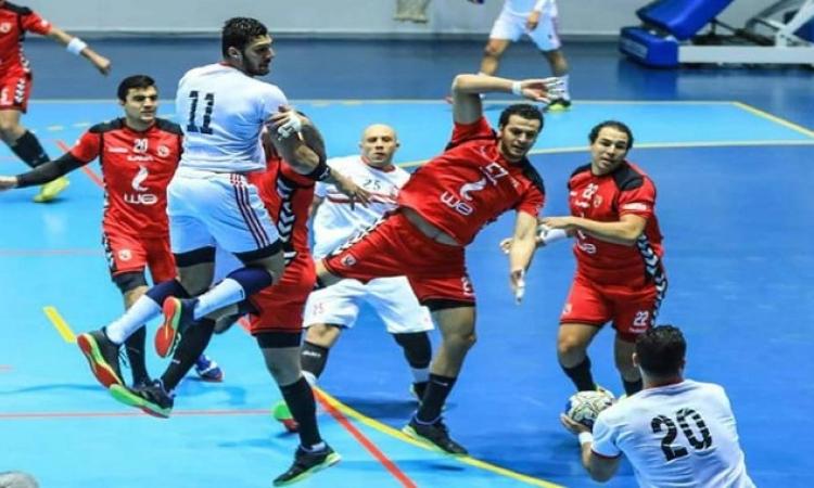 كلاسيكو جديد الليلة بين الأهلي والزمالك فى نهائي كأس مصر لليد