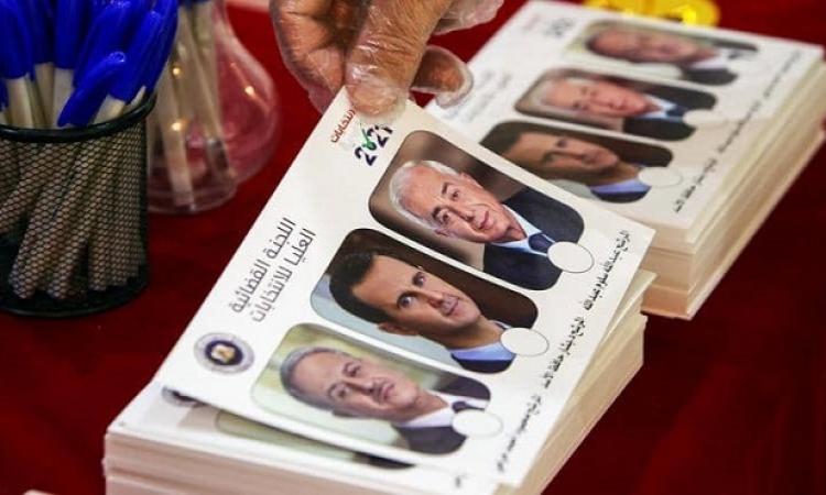 بدء الصمت الانتخابى في سوريا قبل يوم من الانتخابات الرئاسية التي يشارك فيها الأسد