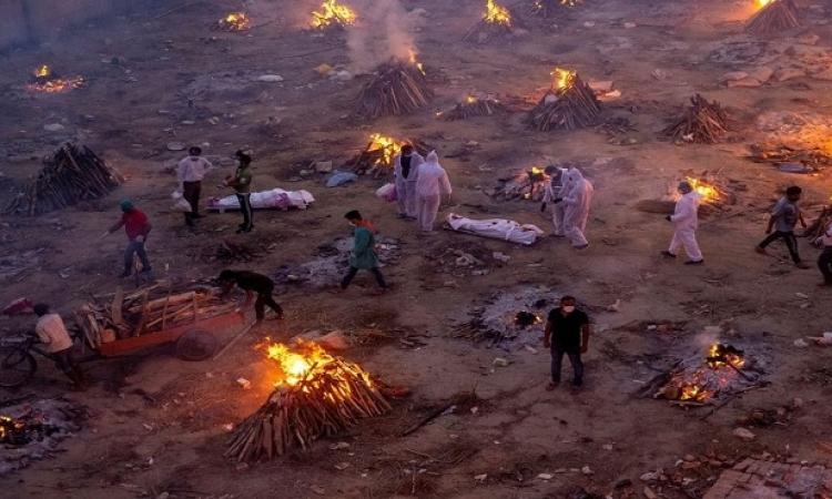 وفيات كورونا في الهند يتجاوزون الـ 300 ألف .. بينهم 50 ألف فى اسبوعين فقط
