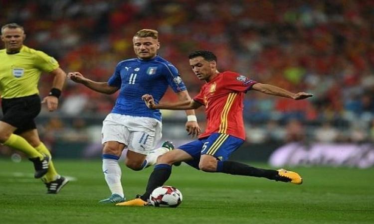 مواجهة نارية الليلة بين إيطاليا وإسبانيا بنصف نهائي يورو 2020