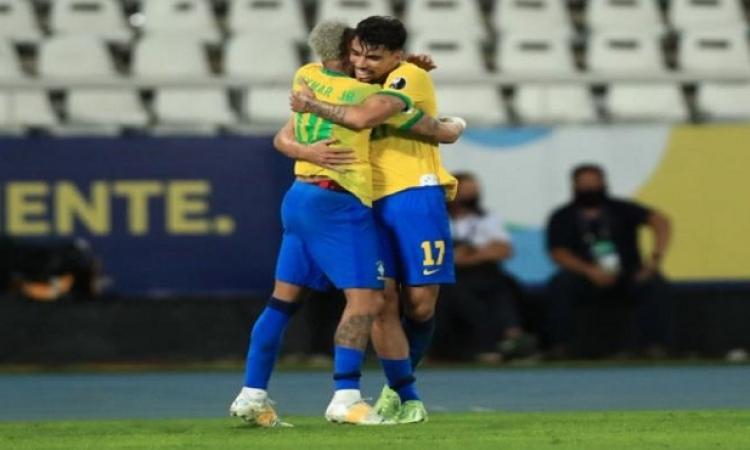 البرازيل تصل نهائى كوبا أمريكا بعد فوزها على بيرو بهدف باكيتا