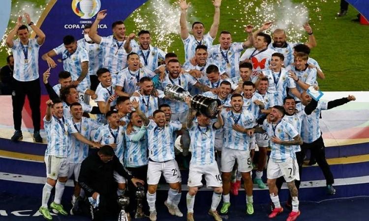 ميسى يقود الأرجنتين لانتزاع كأس كوبا أمريكا من البرازيل