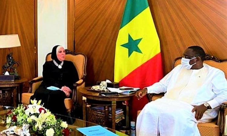 الرئيس السنغالى يعلن دعم بلاده لحقوق مصر فى مياه نهر النيل