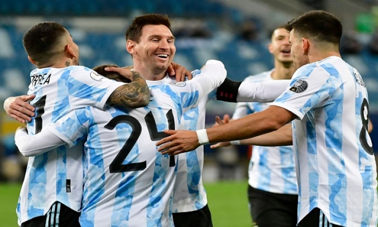 الأرجنتين تتحدى الإكوادور وأوروجواي تواجه كولومبيا فى ربع نهائي كوبا أمريكا
