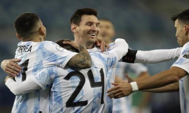 ميسي يقود الأرجنتين لنصف نهائي كوبا أمريكا بثلاثية ضد الإكوادور