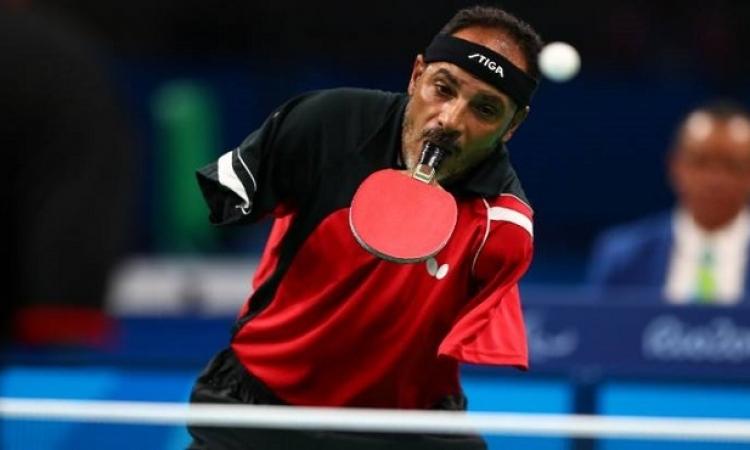 خسارة إبراهيم حمدتو وأيمن كمال في منافسات تنس الطاولة بدورة الألعاب البارالمبية