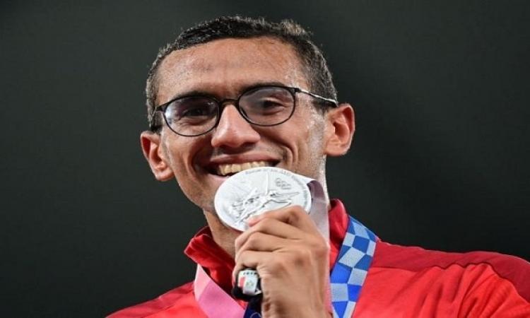 أحمد الجندي يتوج بفضية الخماسي الحديث في أولمبياد طوكيو