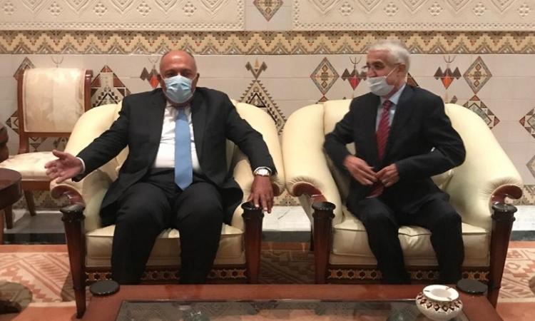 سامح شكرى يشارك اليوم فى اجتماع وزراء خارجية دول جوار ليبيا