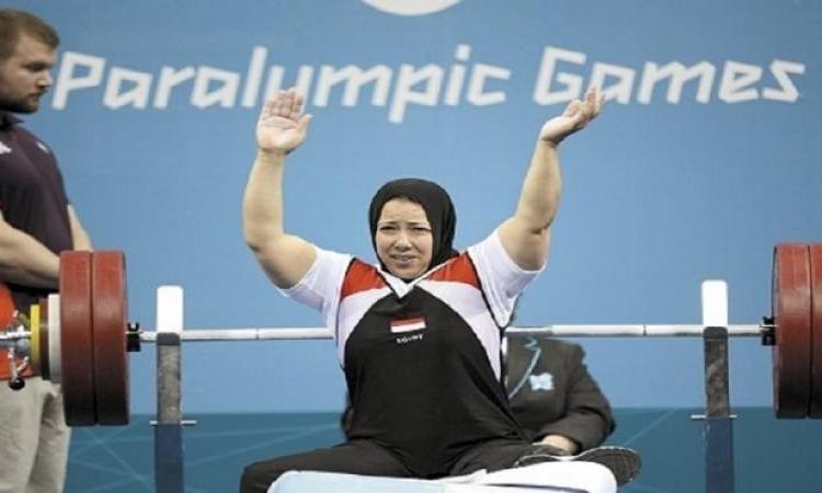 فاطمة عمر تحصد الفضية الرابعة لمصر فى البارالمبياد