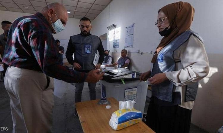 فتح مراكز الاقتراع في الانتخابات التشريعية المبكرة في العراق