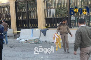 مديرية امن القاهرة بعد الانفجار