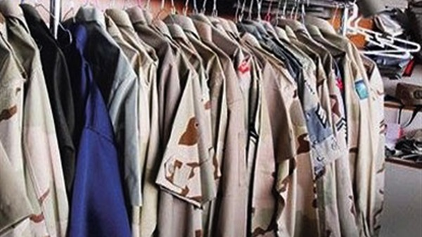 ملابس القوات المسلحة