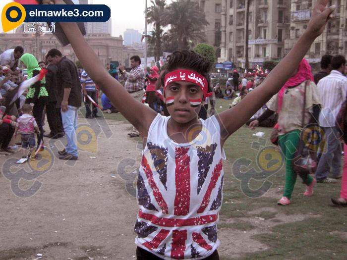 احتفال السيدات بفوز السيسي في التحرير (1)