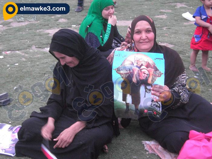 احتفال السيدات بفوز السيسي في التحرير (10)