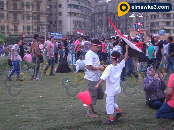 احتفال السيدات بفوز السيسي في التحرير (12)