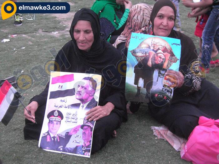 احتفال السيدات بفوز السيسي في التحرير (13)