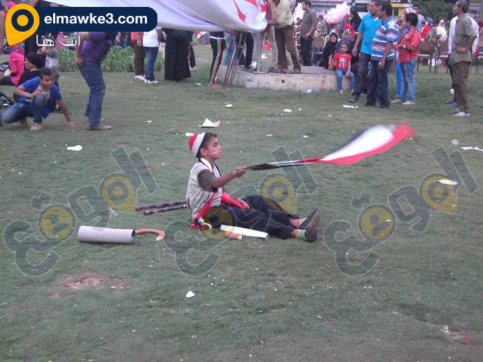 احتفال السيدات بفوز السيسي في التحرير (3)