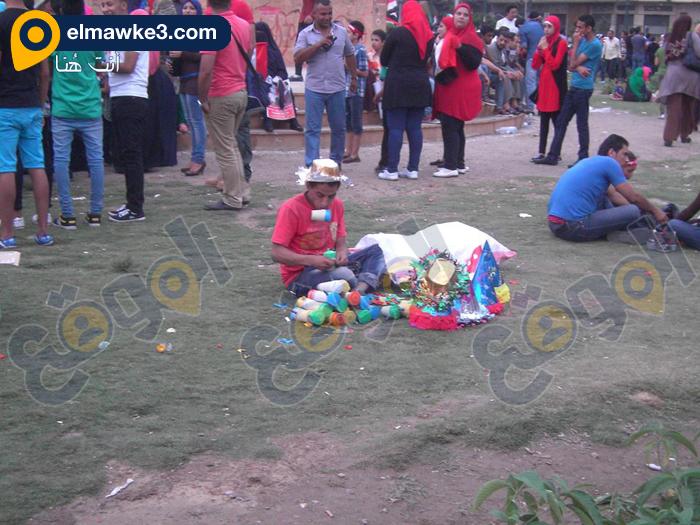 احتفال السيدات بفوز السيسي في التحرير (6)