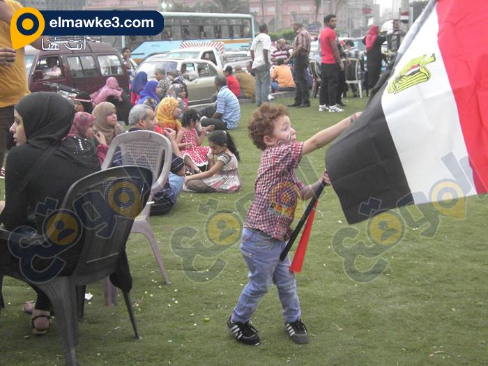 احتفال السيدات بفوز السيسي في التحرير (7)
