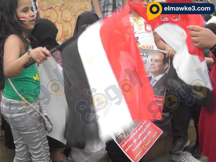 احتفال السيدات بفوز السيسي في التحرير (8)