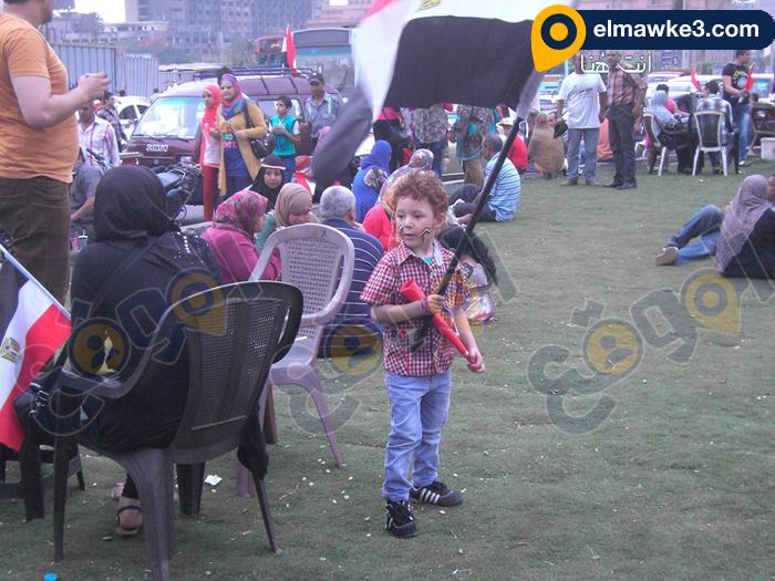 احتفال السيدات بفوز السيسي في التحرير (9)