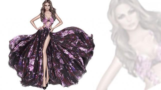 فستان هيفاء