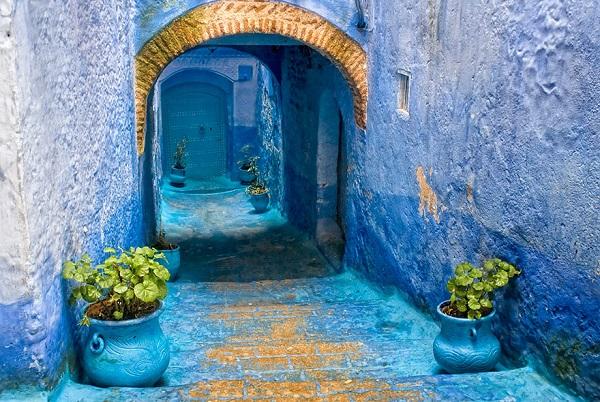 القرية الزرقاء  8