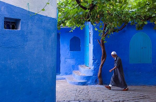 القرية الزرقاء