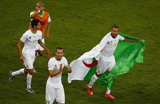 المنتخب الجزائري بالمونديال