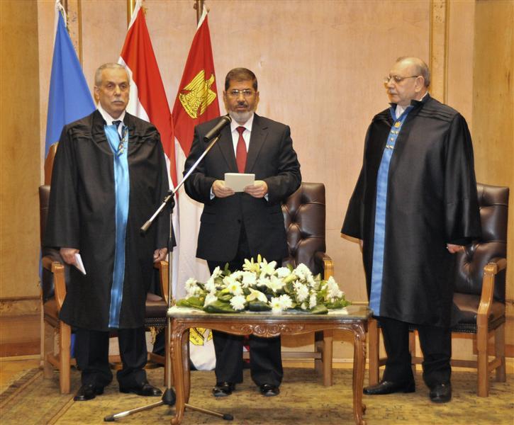 الرئيس السابق محمد مرسى