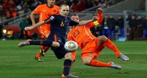 منتخب هولندا وأسبانيا