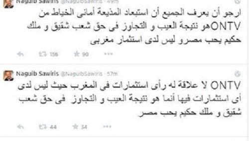 تويتة ساويرس بشأن أماني الخياط