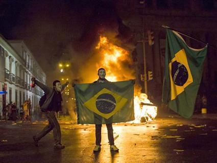 شغب البرازيل