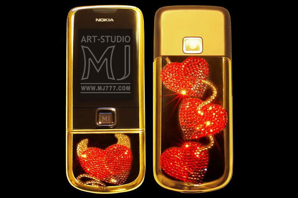 Nokia 8800 Arte Sapphire Swarovski MJ 001000brnew