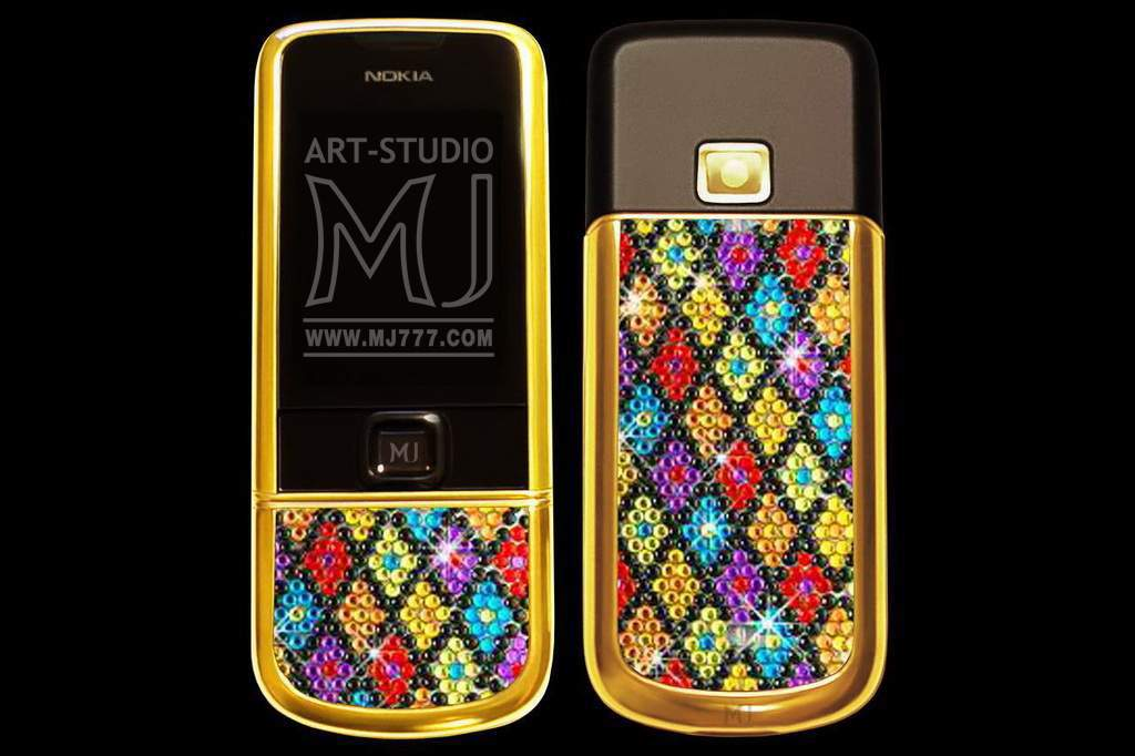 Nokia 8800 Arte Sapphire Swarovski MJ 001003gg