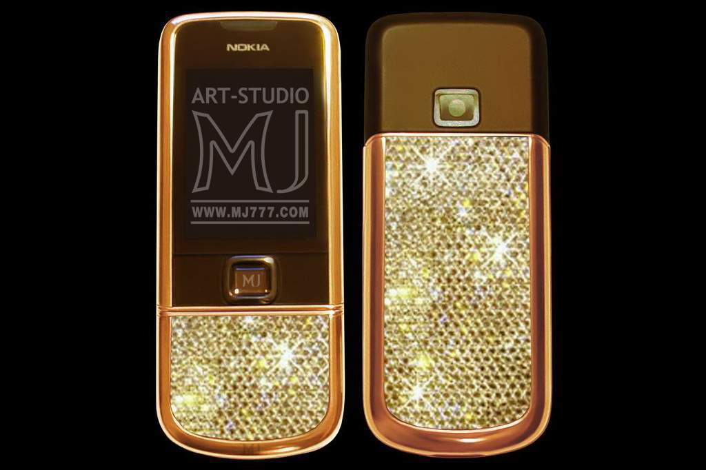 Nokia 8800 Arte Sapphire Swarovski MJ 001008 pink
