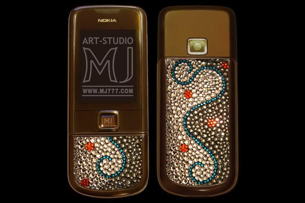 Nokia 8800 Arte Sapphire Swarovski MJ 001009brt1